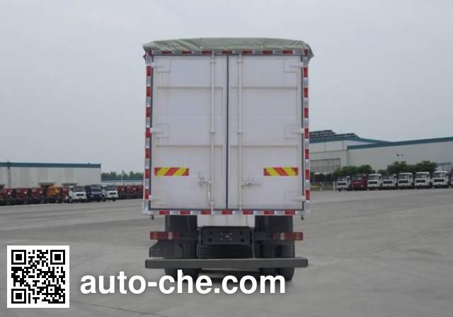 豪泺牌ZZ5317CPYN466GD1蓬式运输车
