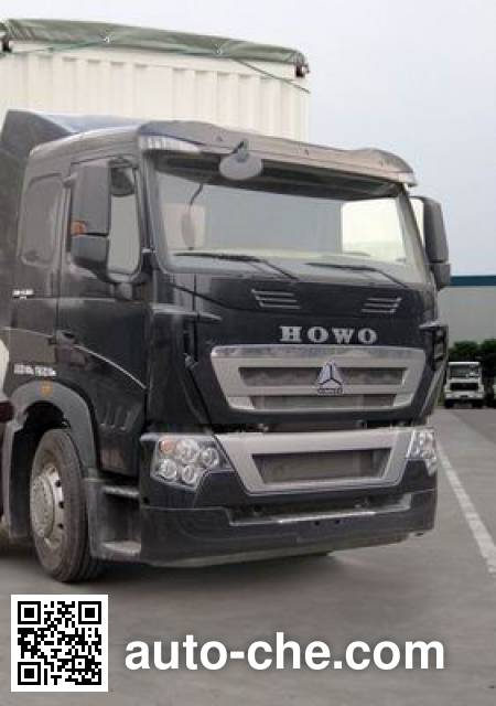 Sinotruk Howo ZZ5317CPYN466MD1B soft top box van truck