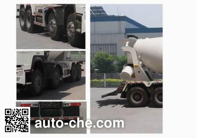 豪沃牌ZZ5317GJBN3267D1混凝土搅拌运输车