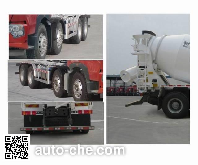 Sinotruk Howo ZZ5317GJBN326HD1 concrete mixer truck