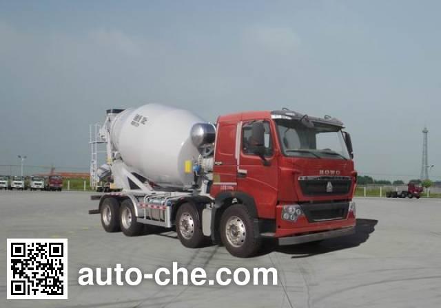 豪沃牌ZZ5317GJBV326HD1混凝土搅拌运输车