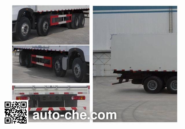 Sinotruk Howo ZZ5317XXYN466WE1 box van truck