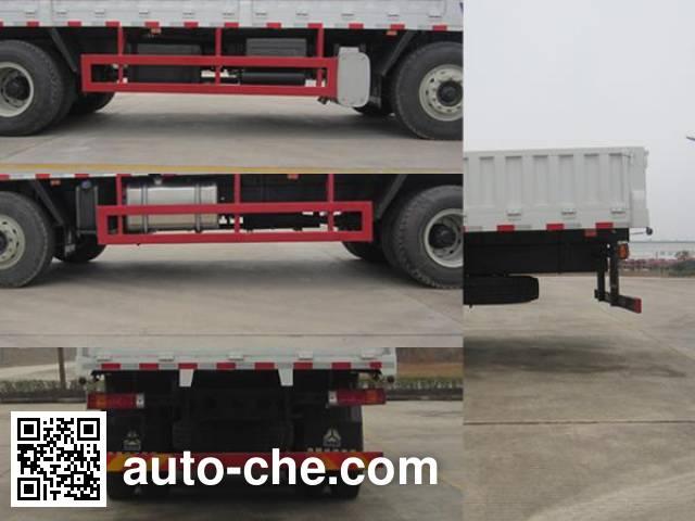 Homan ZZ5318JSQM60DB0 truck mounted loader crane