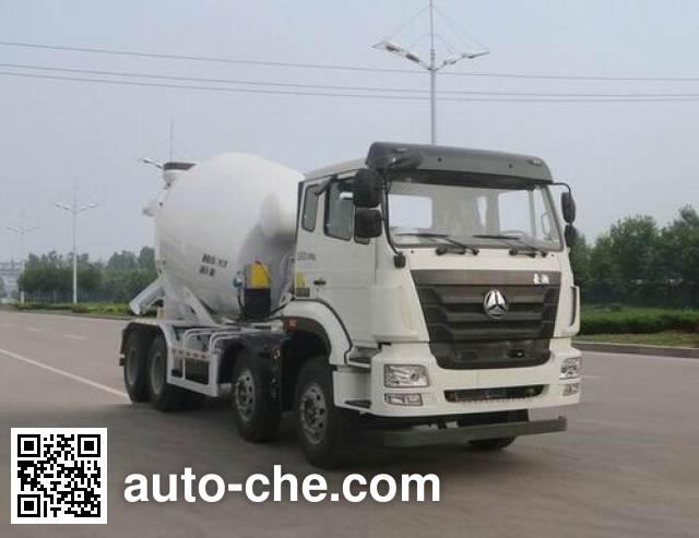 豪瀚牌ZZ5325GJBN3063D1K混凝土搅拌运输车