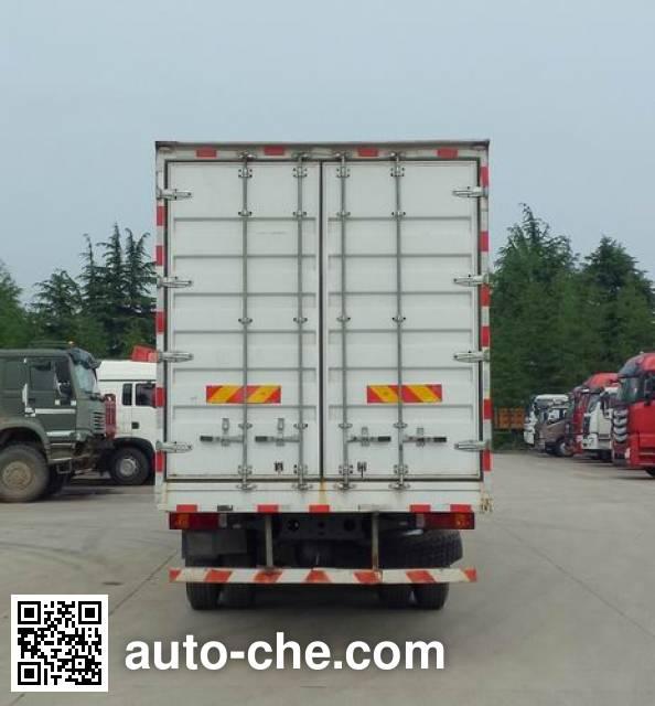 豪瀚牌ZZ5325XXYN4663E1K厢式运输车