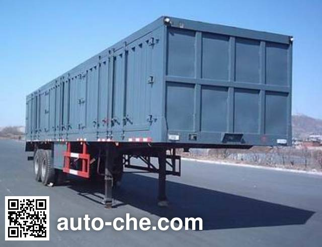 斯达-斯太尔牌ZZ9326XXY231厢式运输半挂车