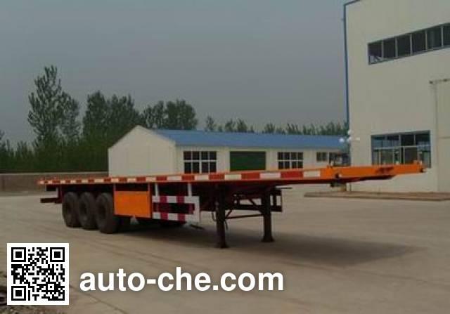 Sida Steyr ZZ9406TJZ321 container transport trailer