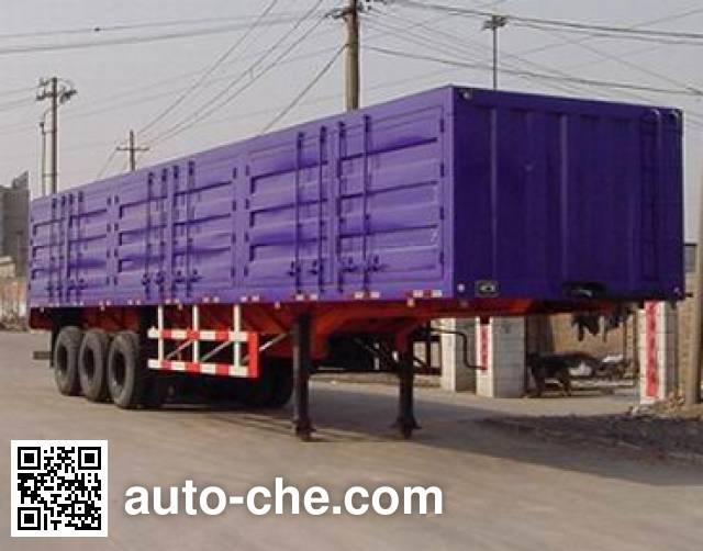 斯达-斯太尔牌ZZ9406XXY331厢式运输半挂车