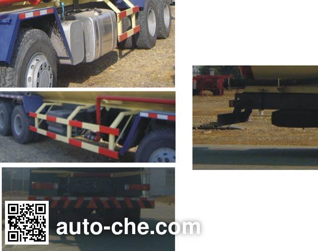 Zhongshang Auto ZZS5310GFL bulk powder tank truck