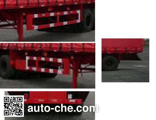 Zhongshang Auto ZZS9350XXY curtainsider trailer