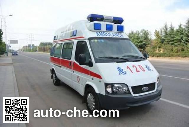 春田牌ZZT5031XJH-4救护车