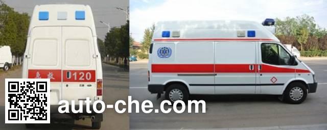 春田牌ZZT5030XJH-4救护车