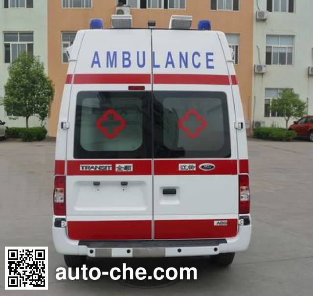 春田牌ZZT5036XJH-4救护车