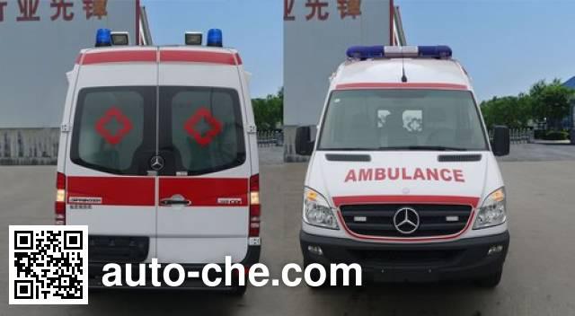 春田牌ZZT5040XJH-4救护车