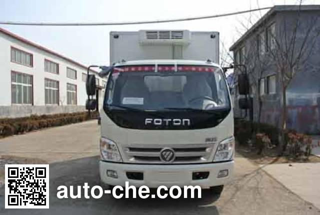 希尔牌ZZT5040XLCNG-4冷藏车
