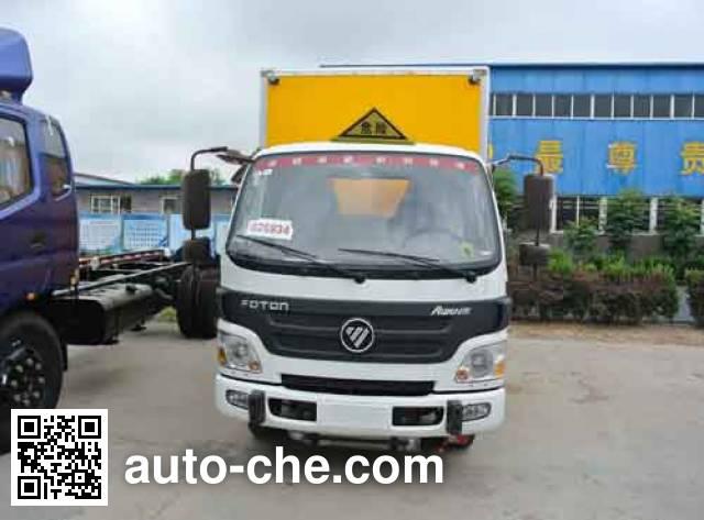 Xier ZZT5040XQY-4 explosives transport truck