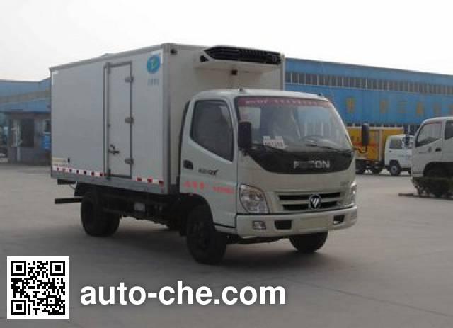 希尔牌ZZT5040XLC-4冷藏车
