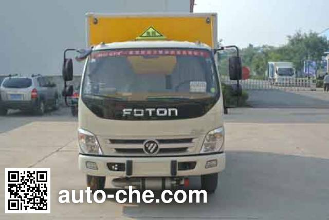 Xier ZZT5074XQY-4 explosives transport truck