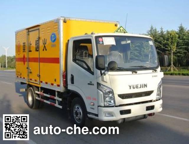 Xier ZZT5071XQY-4 explosives transport truck