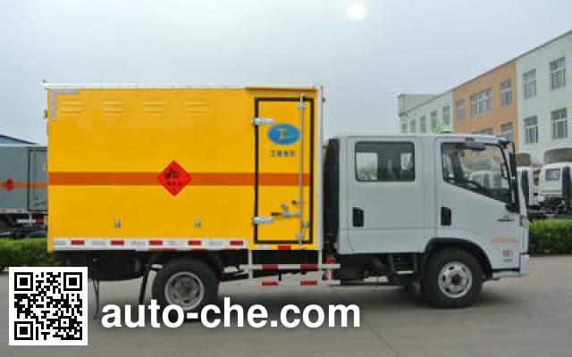 Xier ZZT5071XQY-5 explosives transport truck