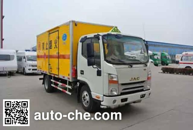 Xier ZZT5072XQY-4 explosives transport truck
