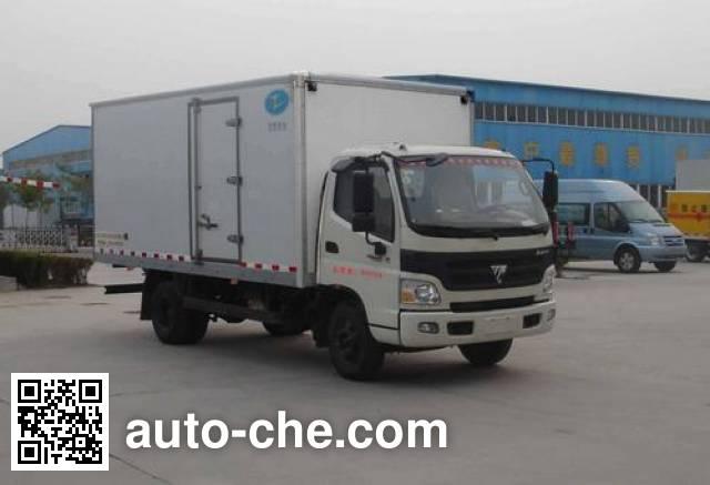 Xier ZZT5080XBW-4 insulated box van truck