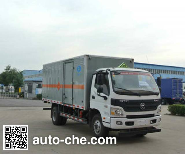 Xier ZZT5081XQY-5 explosives transport truck