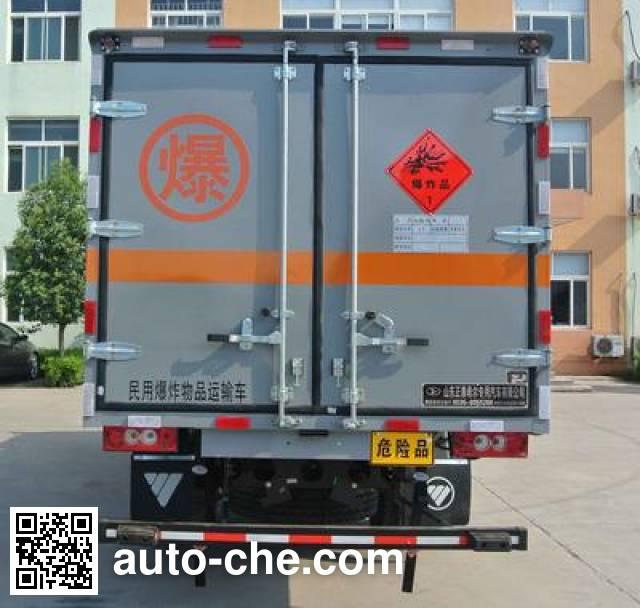 Xier ZZT5091XQY-4 explosives transport truck