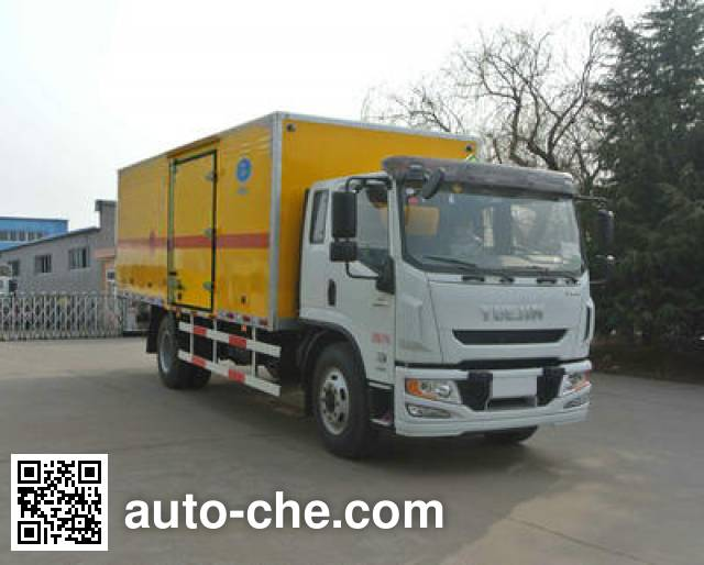 Xier ZZT5160XQY-5 explosives transport truck
