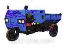 双嶷山牌7Y-1150D型自卸三轮汽车