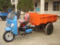 双嶷山牌7Y-1150D1型自卸三轮汽车