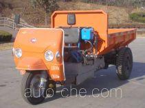 五征牌7Y-1150DA15型自卸三轮汽车