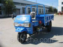 光明牌7Y-1450DB型自卸三轮汽车