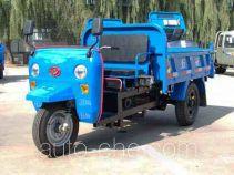 五征牌7Y-1150DA19型自卸三轮汽车