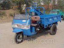 永牌7YP-1450D2型自卸三轮汽车