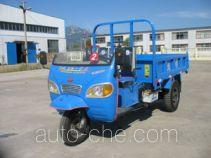 光明牌7YP-1450DB型自卸三轮汽车