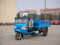 奔马牌7YP-1450DC2型自卸三轮汽车