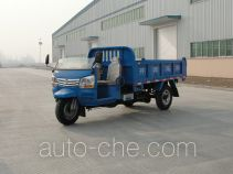 奔马牌7YP-1775D型自卸三轮汽车