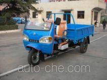 奔马牌7YP-950D2型自卸三轮汽车