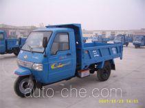 三富牌7YPJ-1450D1B型自卸三轮汽车