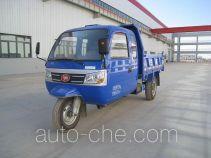 兰驼牌7YPJ-1450DB型自卸三轮汽车