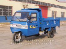 三富牌7YPJ-1750D型自卸三轮汽车