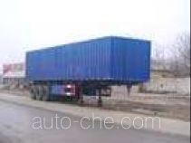 Huaxia AC9330XXY box body van trailer