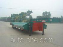 华夏牌AC9351TDP型低平板半挂车
