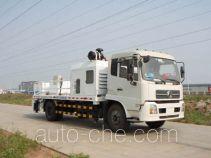 星马牌AH5120HBC80型车载式混凝土泵车