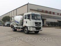 星马牌AH5160GJB1L4型混凝土搅拌运输车