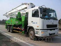 星马牌AH5290THB0L4型混凝土泵车