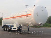Kaile AKL9380GDY cryogenic liquid tank semi-trailer