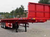 Kaile flatbed dump trailer
