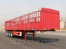 开乐牌AKL9381CCY型仓栅式运输半挂车